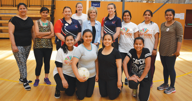 Migrants choose netball for fun and fitness