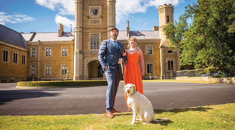 Government House sets scene for 'paw-fect' event