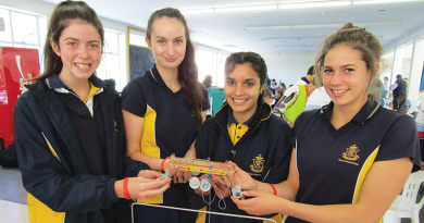 Students take up the science gauntlet