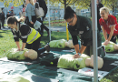 On-the-spot CPR training for Salamanca market goers