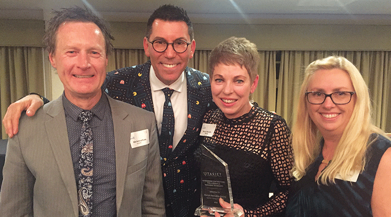 TasTAFE education manager recognised for ICT excellence