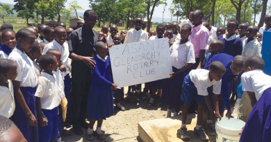 Glenorchy Rotary provides water in Tanzania