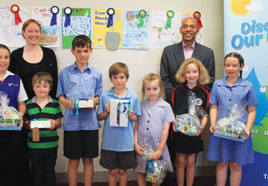 Watery victory for local primary student