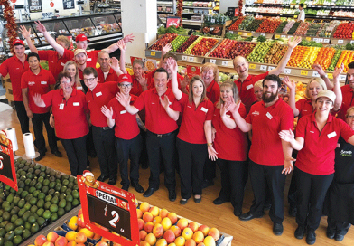 "Coles welcomes ""new look"" Sandy Bay store"
