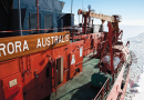 Bidding farewell to the Aurora Australis