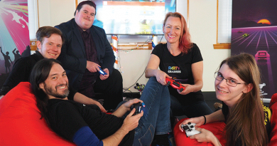 Local gamemakers' push to forge new industry