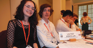 Youth delegates ramp up debate