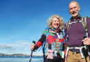 New Town couple walking the extra mile