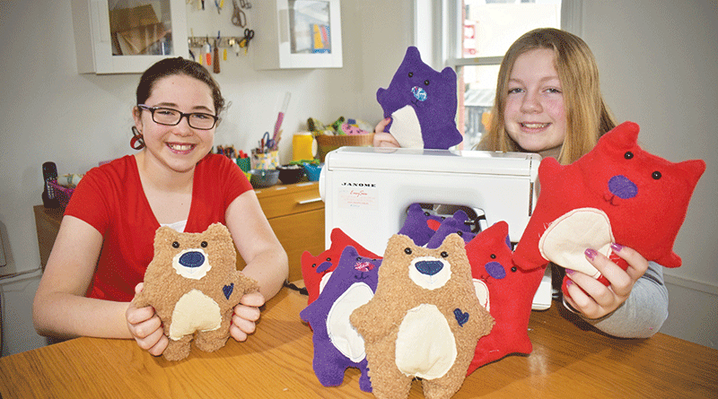 Comfort bears for people with disabilities in ISO